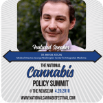 It is coming! Don't miss! The National Cannabis Policy Summit April 20th.